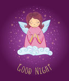 Good Night Angel Royalty Free Stock Photos
