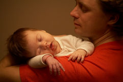 Good night! baby! Stock Photos