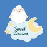 Good Night design Royalty Free Stock Image