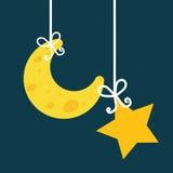 Good Night design Stock Photos