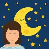 Good Night design Royalty Free Stock Photos