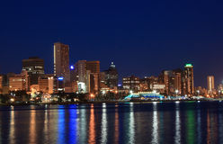 good night, Durban Royalty Free Stock Images