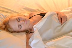 Good night! Or - good napping! Stock Photo