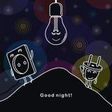 Good night! Royalty Free Stock Photos