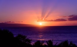 Good Night, Kaanapali Royalty Free Stock Photos