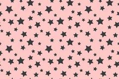 Good night pattern with stars. Illustration. Vector royalty free illustration