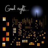 Good night Stock Image