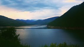 Good Night Sun. Taken near Aspen Colorado Royalty Free Stock Photo