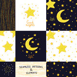 Good Night And Sweet Dreams Collection Stock Images