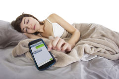 Good Night Text Stock Images