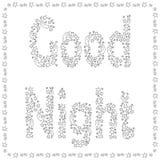good night-04 royalty free illustration