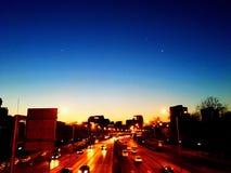 Good nignt Beijing royalty free stock image