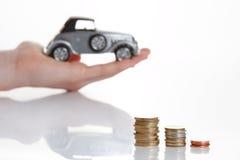 Good offer. Hand presenting good offer for little money Stock Photography