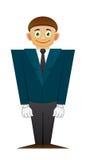 Good office man Stock Image