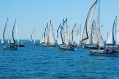 Good Old Boat Regatta 2012 Stock Photography
