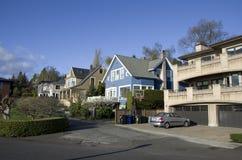 Good old neighborhood royalty free stock photos