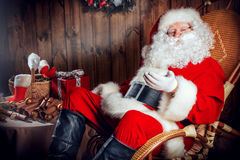 Good old Santa Royalty Free Stock Photo