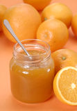Good orange jam. Royalty Free Stock Photo