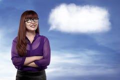 Good person asian career woman Stock Photography