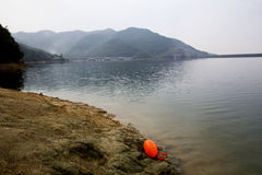 A good place to open water swimming near Shanghai Stock Image