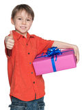 Good present! Royalty Free Stock Photography