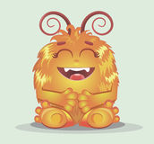 Good red furry monsters Royalty Free Stock Photo