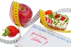 Good resolution for healthy diet Royalty Free Stock Photos