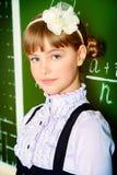 Good schoolgirl royalty free stock photography