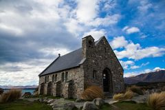 Good of Shepherd Christ Church in New Zealand stock image