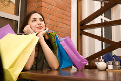 After good shopping Royalty Free Stock Photo