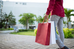 After good shopping Royalty Free Stock Photos