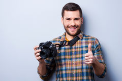 Good smile!. Stock Photography