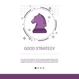 Good Strategy Business Planning Banner With Copy Space Royalty Free Stock Photography
