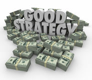 Good Strategy Earning More Money Financial Advice Plan Stock Photos