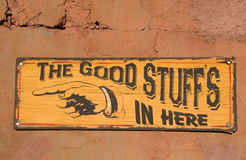 The good stuff Stock Photo