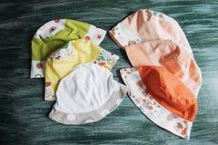 Good summer sun protection of natural fabrics Royalty Free Stock Photography