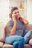 Good talk with friend. Royalty Free Stock Images