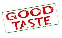 Good taste. Rubber stamp with text good taste inside,  illustration Royalty Free Stock Image