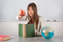 Good teacher girl Royalty Free Stock Images