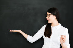Good teacher must know how to give question not answer Royalty Free Stock Photography
