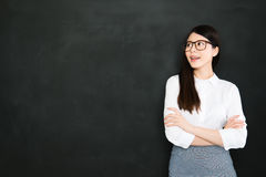 Good teacher that will keep the game fun to have success Royalty Free Stock Photos