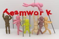 Good teamwork Stock Images