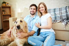 Good time at home Royalty Free Stock Images