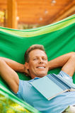 So good to do nothing. Royalty Free Stock Images