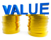 Good Value Represents Prosperity Important And Financial Royalty Free Stock Image