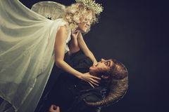 Good versus evil stock images download 82 royalty free photos - Free evil angel pictures ...