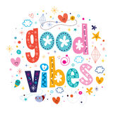 Good vibes Royalty Free Stock Images