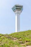 Good view of Goryokaku tower in Hakodate city, Japan Royalty Free Stock Photo