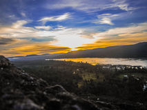 Good view point in Pha tam Royalty Free Stock Images