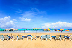 Tropical beach, Karon beach in phuket island, Andaman sea, Thail Royalty Free Stock Images